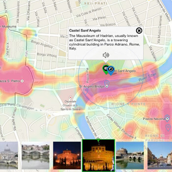GeoPopularity Heat Maps by AVUXI