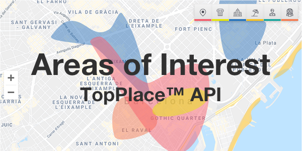 Areas of Interest API by TopPlace™